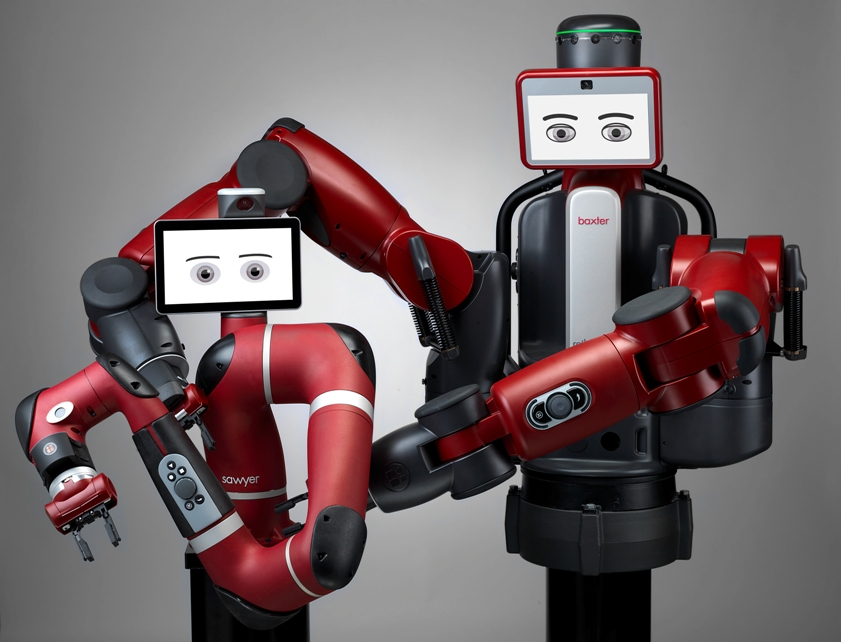 Sawyer_and_Baxter_collaborative_robots
