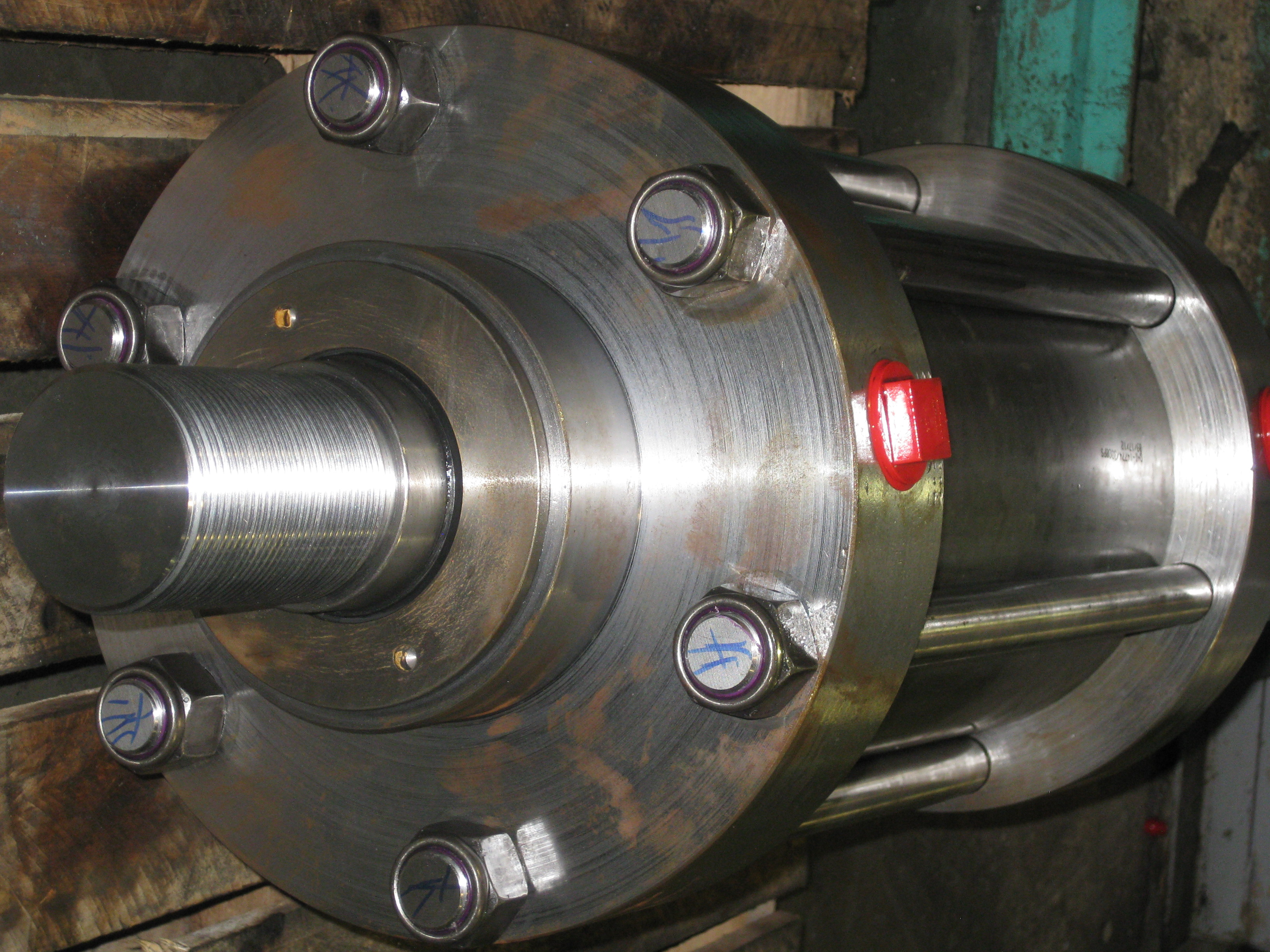 Tie_rod_cylinder_from_Georgia_Hydraulics