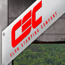 Clow Stamping Company in Merrifield, MN. Short-to-medium volume metal stampings with value-added services, including production laser, prototyping, machining, welding & hardware insertion.
