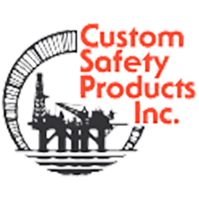 Custom Safety Products, Inc. in Alvin, TX. Rubber mats for drilling rig floors.