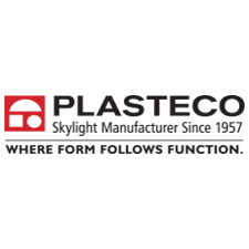 Plasteco, Inc. in Houston, TX. Commercial & industrial skylights & heat & smoke vents, including retrofit & replacement skylight domes & units & skylight screens & guards for fall protection.