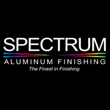 Spectrum Aluminum Finishing, Inc. in Muskego, WI. Metal finishing services, including anodizing, hardcoat anodizing, electroless nickel plating, chromate conversion & passivating.