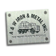 A & W Iron & Metal, Inc. in Kewaskum, WI. Wholesaler of scrap metals.