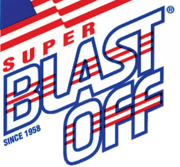 Blast Off International Chemicals & Mfg. in Seaboard, NC. Jet-action safety cleaners & degreasers for grease, wax, gum, dirt, oil, ink, mildew, carbon, running rust & difficult soils removal from any surface not harmed by water or solvent.