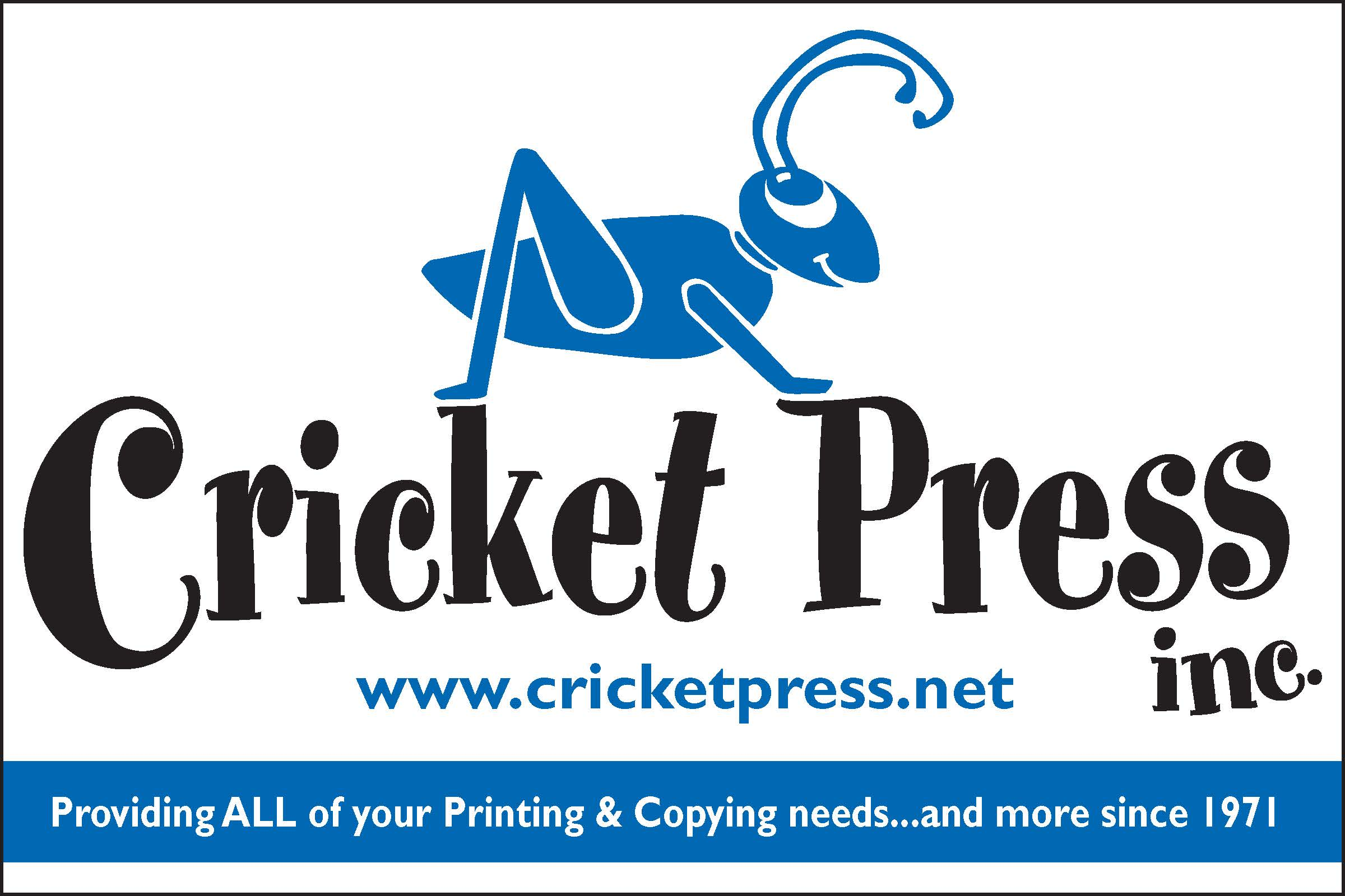 Cricket Press, Inc.