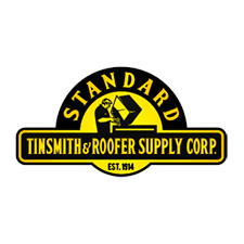 Standard Tinsmith & Roofer Supply Corp. in Brooklyn, NY. Perforated & expanded sheet metal sheets, coils, angles, channels, tubing, round spirals, flat oval spirals, including galvanized, galvannealed, cold-rolled & hot-rolled aluminum, stainless, copper & zinc, tin ceiling & HVAC products.