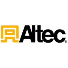 Altec Industries, Inc. in Forest Park, GA. Rebuilt utility construction aerial lifts & trucks.