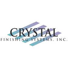 Crystal Finishing Systems, Inc. in Schofield, WI. Corporate headquarters & aluminum extrusions & fabrication, electrostatic liquid & powder coating, high-performance architectural coatings, anodizing, SMC & plastic Class A liquid coatings, assembly, kitting, JIT warehousing & logistics.