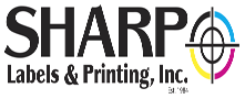 Sharp Labels & Printing, Inc. in Sanborn, NY. Roll labels, flat & extended content roll labels, large-format, digital & offset printing, binding, direct mail, marketing & advertising services & graphic design.