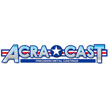 Acra Cast, Inc. in Bay City, MI. 1-ounce to 75-lb. precision metal castings of steel, stainless steel, tool steel, ductile iron, bronze & aluminum alloys, including heat treating, machining, plating, coating & certification.