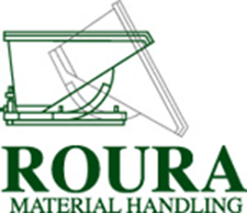 Roura Material Handling in Clinton Township, MI. Self-dumping hoppers & custom steel hoppers, bins & boxes.