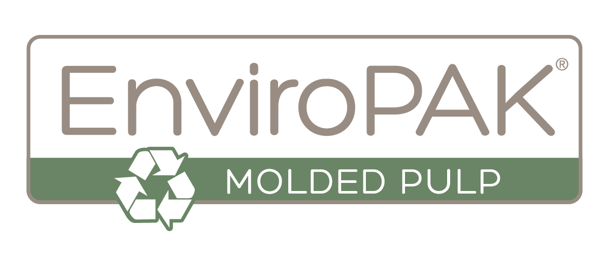 EnviroPAK Corporation in Earth City, MO. Sustainable & eco-friendly custom molded pulp/fiber packaging made from recycled newsprint for protection for the electronics, computer, telecommunications, consumer goods, automotive, medical, beverage & candle industries.