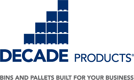 Decade Products, LLC in Grand Rapids, MI. Plastic storage & shipping containers & pallets.