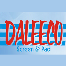 Daleeco, Inc. in Loveland, CO. Screen & pad printing & laser engraving of 3D, sheet, molded & formed plastics & metals, including offset, color & digital printing & election & commercial yard signs, bumper stickers & decals.