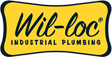 Wil-loc, Inc. in Blaine, MN. Full 2-inch through 12-inch ball & socket products, hose sets, flange & threaded fittings, elbow bends, tees, wyes, reducers, increasers, modular step bows & suction & discharge pipe.