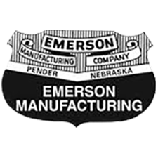 Emerson Mfg. Corp. in Pender, NE. Heavy-duty truck jacks, oilfilter crushers, waste oil caddies, truck ramps & safety stands.
