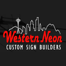 Western Neon in Seattle, WA. Standard & custom illuminated & wayfinding signage, graphics, architectural elements & public art.