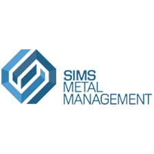 Sims Metal Management in Richmond, VA. Scrap metal recycling.