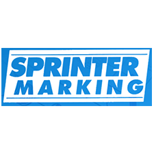 Sprinter Marking, Inc. in Zanesville, OH. Contact ink code-marking equipment for date, product, lot & spot coding on surfaces.